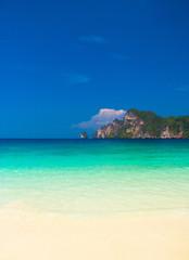 Beach Holiday Caribbean Blue
