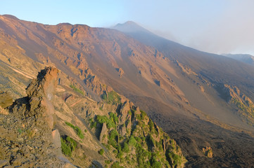 Bove Valley And Etna South-East Crater, Sicily