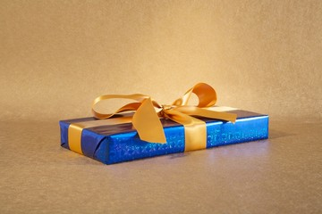 brilliant blue gift box