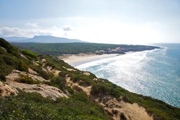 Canuelo beach next to Zahara de los Atunes