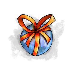 Cartoon gift ball