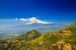 Leinwandbild Motiv Etna with snowy peak