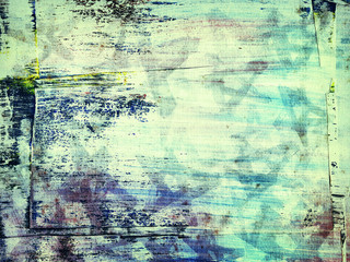 abstract painted grunge collage background