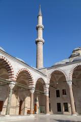 Fatih Mosque minaret
