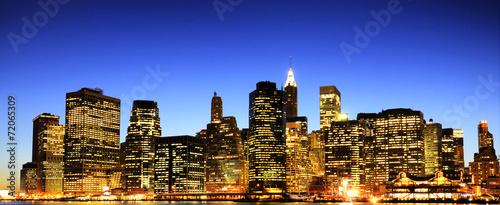 New York City skyline - 72065309