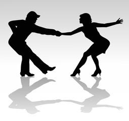 coppia di ballerini