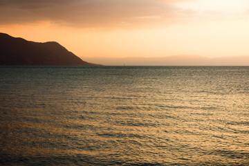 Geneva Lake in Montreux (Switzerland)