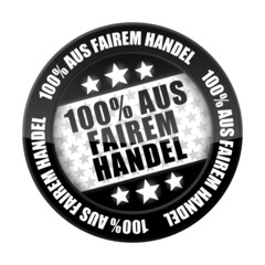 button 201405 100% aus fairem handel I