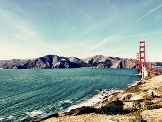 timeless bridge in san francisco - CA