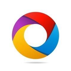 logo, icon, steel of circle