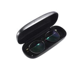 glasses in a case
