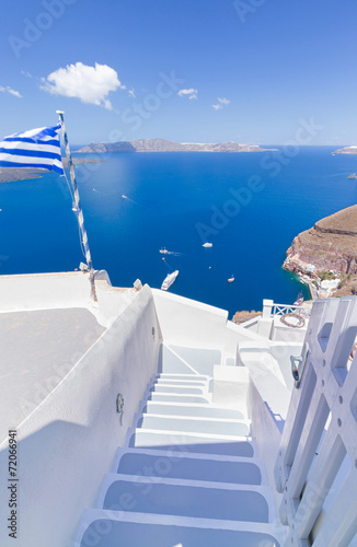 Foto op Canvas Athene Greece Santorini