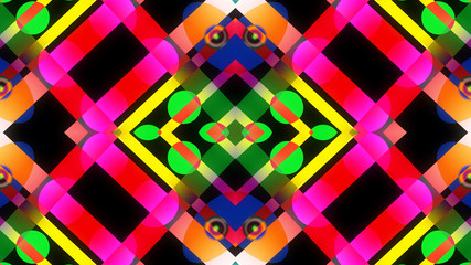 symmetric background pattern