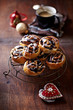 Christmas poppy seed rolls