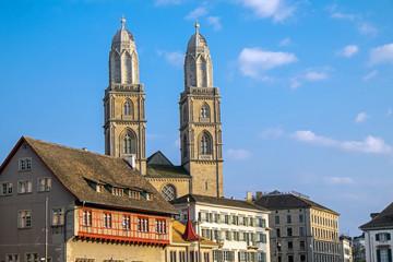 The old town of Zurich in Switzerland