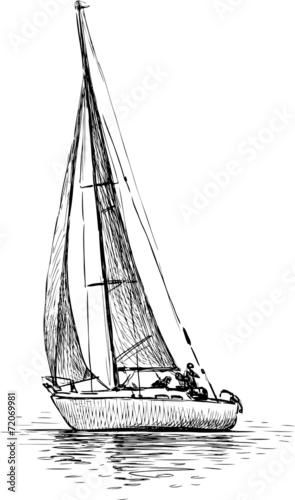 sailing yacht - 72069981