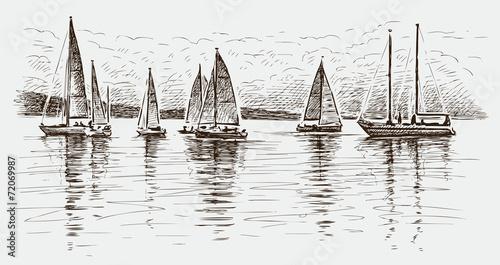Panel Szklany regatta