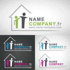 courtier courtage credit pret immobilier agence immobiliere logo