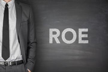 ROE on blackboard