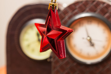 Christmas star and Watches