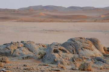 Abendstimmung in der Namib- bei Gobabeb
