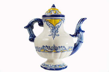 Talavera ceramic coffee