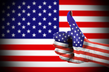 Thumb up for USA 2