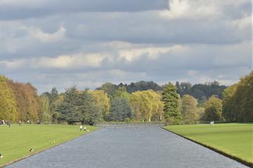 Eclaircie au bout du Grand Canal au par de Tervuren