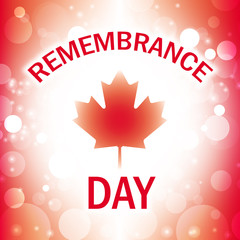 canada remembrance day