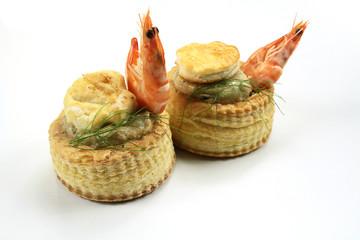 bouchée de fruits de mer