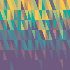 abstract color triangle background- vector illustration