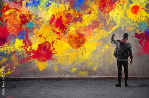 Leinwandbild Motiv Colours