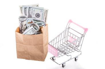 dollars for shopping