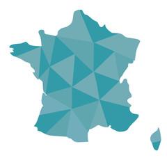 France fond triangle