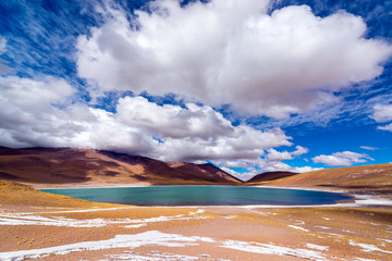 Lake Meniques in Chile