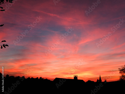 canvas print picture Abendhimmel