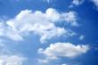 White cloud in a blue sky