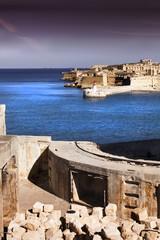 Malta harbor fortification