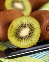 frutto di kiwi affettato