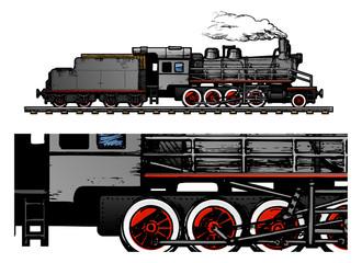 vintage train.