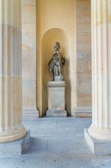 statue at brandenburg gate