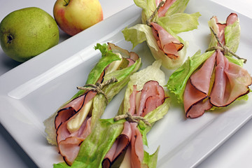 Black Forest Ham Wraps