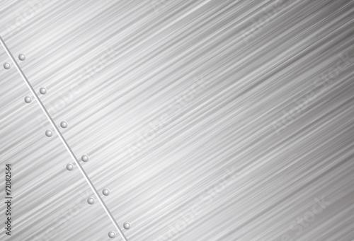 Papiers peints Metal Brushed metal vector background