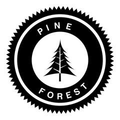 pine forest design