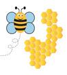 Obrazy na płótnie, fototapety, zdjęcia, fotoobrazy drukowane : Happy Bee