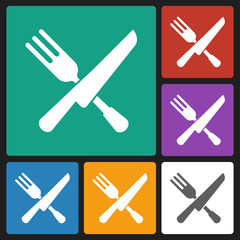 fork knife icon