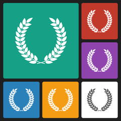 laurel wreath icon