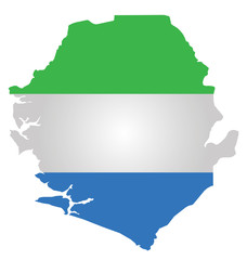 Flag of the Republic of Sierra Leone