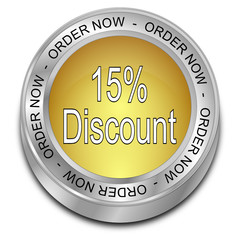 15% Discount - Order now Button