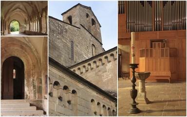 église et cloître de Sylvanes